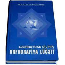 Orthographical Dictionary of the Azerbaijani Language